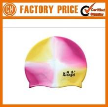 Custom Printed Silicone Swimming Cap For Long Hair