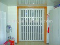 plastic folding door