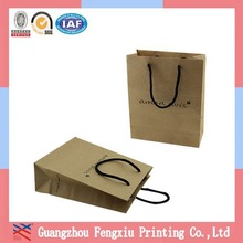 Respond Within 6 Hours Guangzhou Brown Paper Grocery Bags