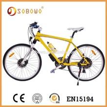 Eléctrica CE aprobado 26 pulgadas motor de cubo bicicleta de descenso
