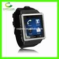 3g android de hombres de negocios inteligente a mano reloj del teléfono celular móvil s6