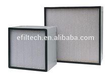 ULPA H12 H14 U15 U16 U17 Cleanrooms Air Filter water well screen water filters
