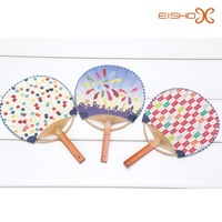 chinese style bamboo paper fans