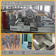 aluminium profile cutting machine/CNC control double mitre saw