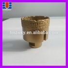 Diamond core drill bits for drilling concrete stones or ceramics
