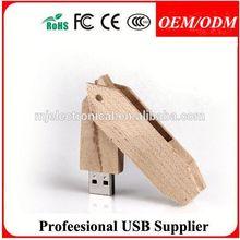 oem custom logo&packing wood usb flash drive stick , Free sample