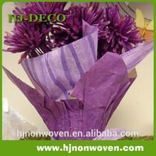 PET non woven tissue paper flower pot wrap