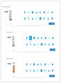 Keewin Écran 55 pouces. vertical, Éventail publicité par affichage numérique