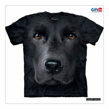 Sexy man and animal Mens fashionpolyester fiber brandman's 3d printing t-shirt