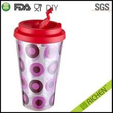 Design antique disposable plastic mugs and cups