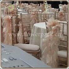 wholesale cheap fancy universal ruffled chiavari chair cover for wedding ,wedding ruffled chiavari chair cover