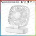 4.7 polegadas recarregável do ventilador do condicionador de ar de recarga