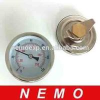 Industrial Pipeline bimetallic Thermometer