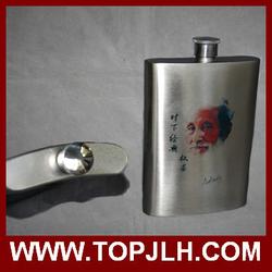 stainless steel 8oz hip flask/flagon/wine pot
