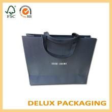 Wholesale Custom Logo Printed Brown Craft Gift Shopping Paper Shoe Bag