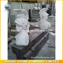Famous White Marble Roman Bust Sculpture