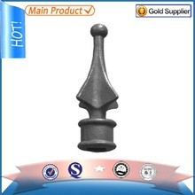 2015 new product gate decorative railing part, cast iron spears