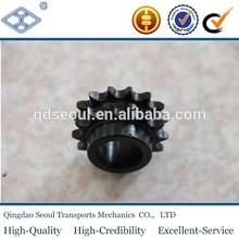 ASA 50 ANSI DIN 8187 ISO/R 606 standard 10A-2 duplex chain sprocket with hub