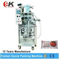 Health Yoghurt / Soft Drink / Milk Pouch Filling Machine