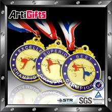 high quality low price oem medal souvenir medallion zinc alloy medal