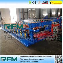 FX coated corrugated roofing sheet machine