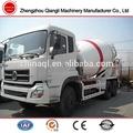 dongfeng motor diesel misturador concreto do caminhão dimensões