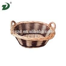 2015 Wicker cheap crochet lace baskets willow basket