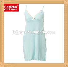 Elegant Long Nightgowns Sexy Asian Sleepwear OEM Wholesale Nighty