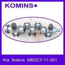 Festiva OE# MB3C7-11-301 MB3C711301 engine Crankshaft