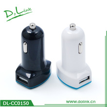 Best Selling Universal Mobile Phone Mini Double USB Car Charger Dual USB Adapter 5V 3100mA