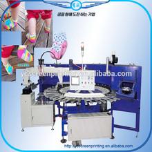 Rotary Screen Printer For Socks Korea