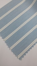 2015 Collection Blue Mist Cotton Twill Stripes Fabric