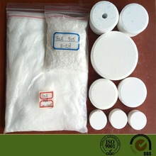 Disinfectant Trichloroisocyanuric Acid 3 chlorine tablets TCCA 90% for swimming pool