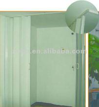 plastic folding shower doors