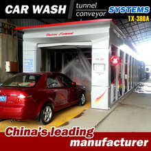TX-380A 11 brushes soft touch carwash, conveyorized tunnel system, automatic carwash station