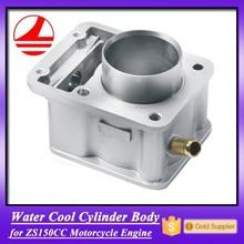Aluminium ZS150CC Motorcycle Cylinder Block Casting