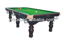 Solid Wood English Style Snooker Billiards Table cheaper biliard table