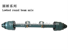 high intensity manufacturer of low bed trailer axle