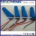 3.7 V 1200 mah de iones de litio 18650 de la batería con precio de fábrica