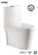 economical water saving One-piece siphonic vortex toilet bowl