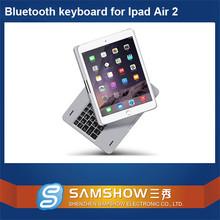 Usb Programmable Keyboard 360 Degreen Rotation Aluminium Keyboard Case 12 Inch Tablet For Ipad Air 2/For Ipad 6