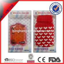 PVC magic make instant heat compress pads