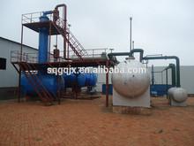 New design waste oil to diesel distilation plant,oil recycling machine,crude oil refinery machine