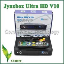 2015 Full HD 1080P Jynxbox v10 FTA(Free To Air) satellite receiver for North America best JYNXBOX ULTRA HD V10 for North America