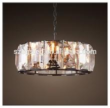 Large Luxury Glass Pendant Lamp & Chandelier Big Crystal Decoration Home