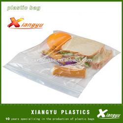 Sandwich plastic zipper bag