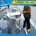el servicio de encargo de la calle al aire libre de acero inoxidable de basura puede para el público