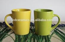 2015 hotsale cheap soil color outside and inside ceramic mug