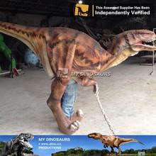 My-dino dinosaur costume velociraptor adult for carnival