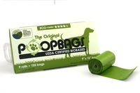 NEW Dogs Poo Eco Friendly Green Dog Poop Scoop Bags